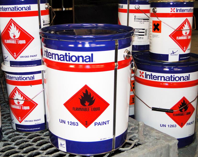 Доставка 140 тонн краски из Москвы по Регионам РФ