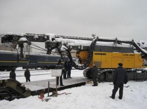 Перевозка крупногабаритных и тяжеловесных грузов ЖД транспортом фото 1