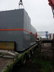 Перемещение котельного оборудования по территории заказчика фото 1