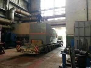 Перемещение котельного оборудования по территории заказчика фото 3